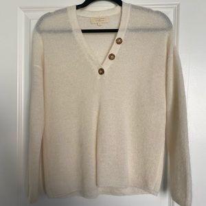 Sezane V Neck Sweater